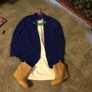 NWOT royal blue blazer