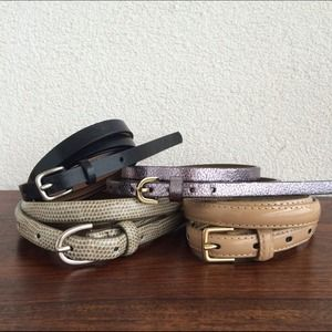 Target Accessories - Four Skinny Belts