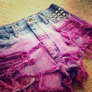Denim - Customized shorts! Pice depends on style.
