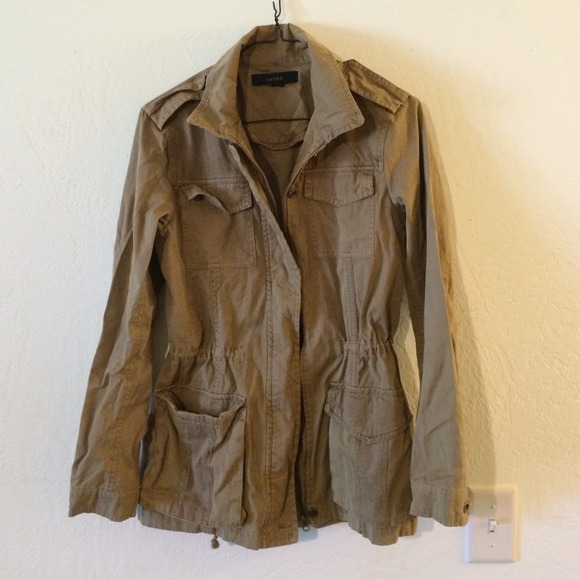 Light Brown Cargo Jacket S from Lauren's closet on Poshmark
