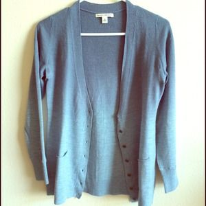 ⬇️PRICE REDUCED⬇️Banana Republic Blue cardigan