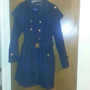 Olivia Pope inspired cape wool coat New