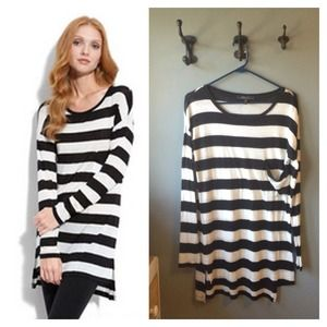 BCBG striped top