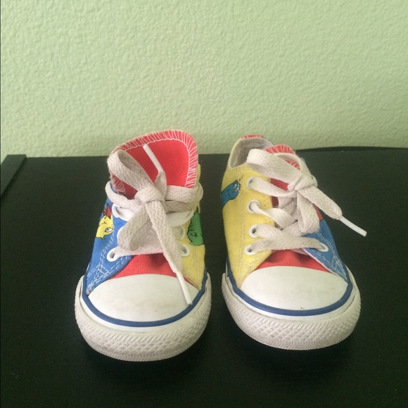 1ab673881fd7 Converse Other - Dr Seuss toddler converse