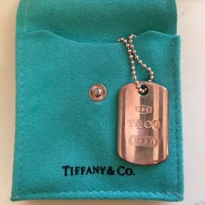 Tiffany & co dog tags
