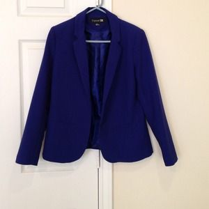 Forever 21 royal blue blazer