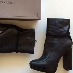 BCBGMaxAzria Shoes - HP x2 • BCBG Tabitha Black Ankle Booties 2
