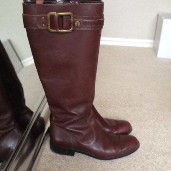 Tahari Boots - Mahogany riding boot 4
