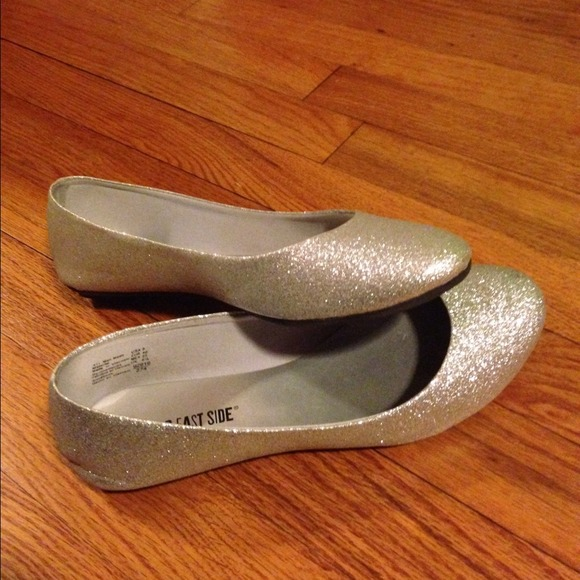 Silver Flats Shoes Payless