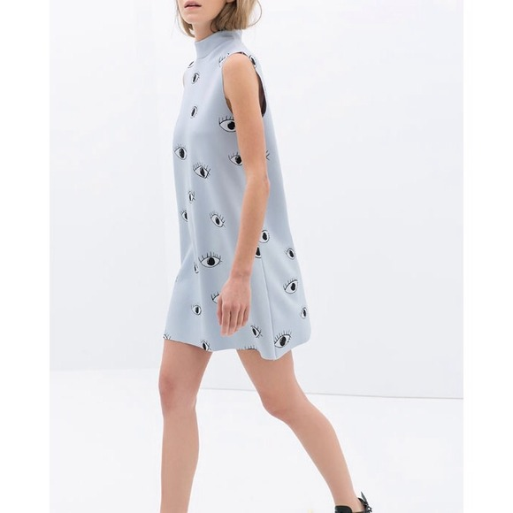 Zara Dresses & Skirts - 🎈Zara Eye Print Dress