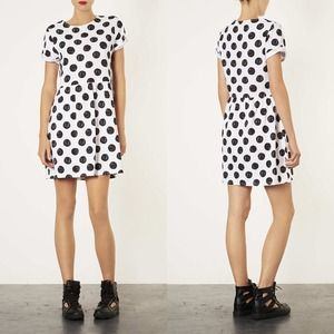 🆕Topshop Polka Dot T Shirt Dress