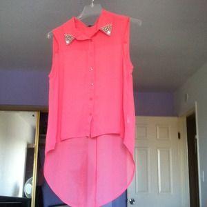 Tops - Pink shirt :) 💖💖💖💖