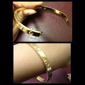 Jewelry - Cartier Love Bracelet