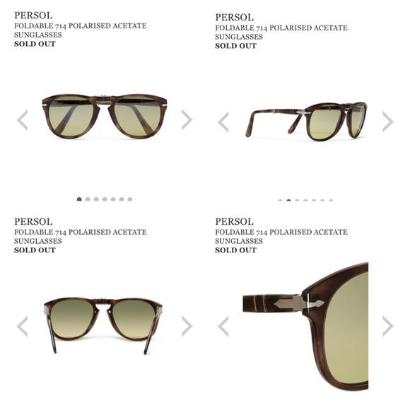 74235988a3 PERSOL - 714 Foldable Polarized Sunglasses