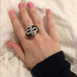 Vintage Kenneth Jay Lane serpent ring