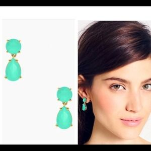 NWT Kate Spade Drop Earrings in Mint