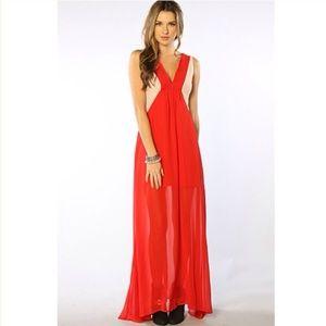 SALE!Keepsake Crossroads Maxi Dress