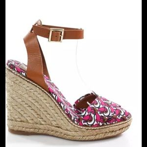 ❤️HOST PICK ✅NEW Tory Burch Lily Pad Wedges