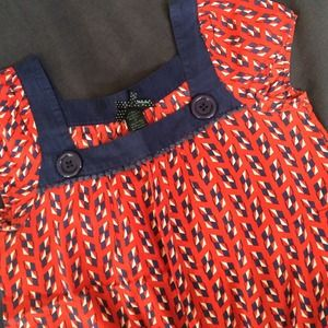 MARC Inspired Button Top
