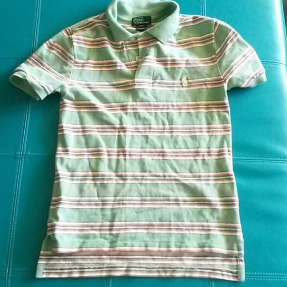 49 off polo by ralph lauren tops boys polo shirt mint for Mint color polo shirt