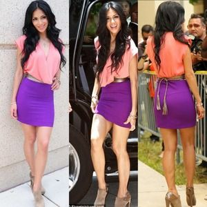 $5 or free with purchase: Purple skirt