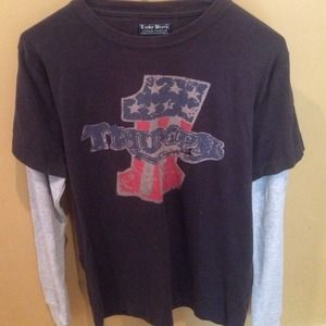Lucky Brand Vintage Inspired L/S T-shirt. S NWT