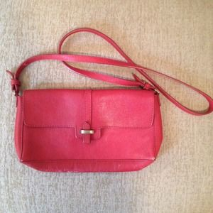 Zara Handbags - Red zara crossbody