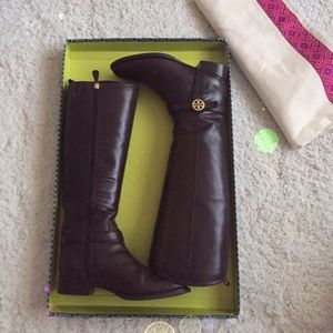 💕Host Pick💕Tory Burch Bristol ridding boot