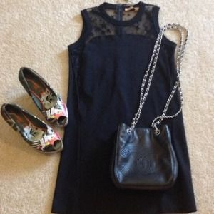 Zara Dresses & Skirts - 🎉🎉Host Pick 6/10🌺ZARA dress with star lace🎉