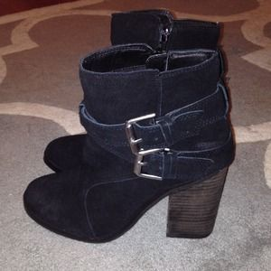 Shoemint Emma buckle bootie