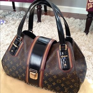 No longer available! LV Griet Monog Mirage Noir