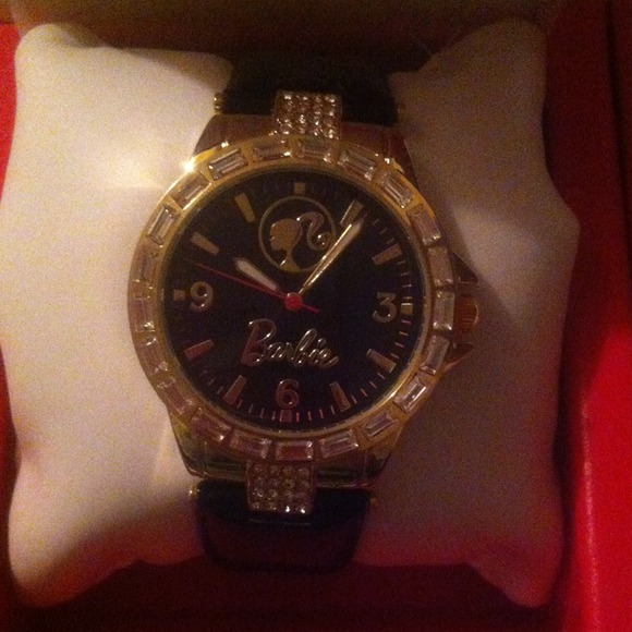 Mattel Barbie Jewelry - Barbie Analog Watch with Clam shell packaging