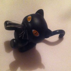 "Black cat for 12"" dolls"