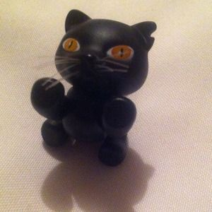 "Bratz cat Other - Black cat for 12"" dolls"