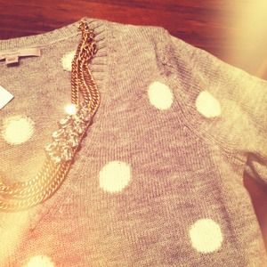 GAP Sweaters - NEW Polka Dot Sweater
