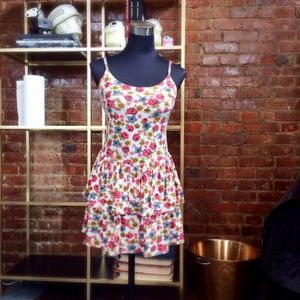 HALF OFF SALE | Floral Jersey Dress