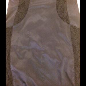 Rubber Ducky Dresses - SALE Satin & Lace: Criss-Cross Strap Dress