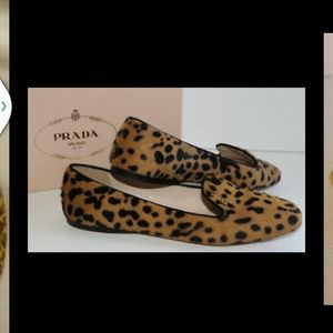 Prada flats never been worn