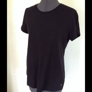 Danskin Now Tops - Danskin Now Black Loose Tee