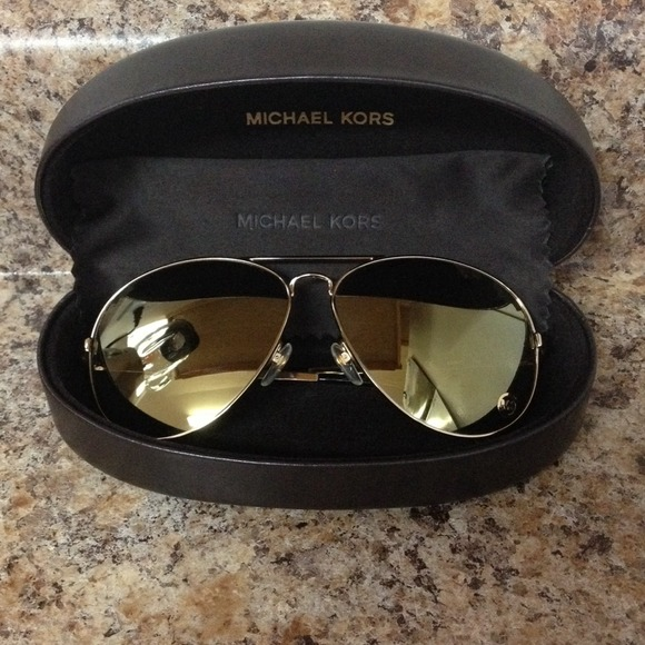 MICHAEL Michael Kors Accessories MICHAEL Michael Kors Lola Mirrored Aviators