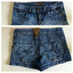 Dollhouse Denim Shorts