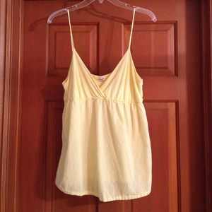 Splendid baby doll tank top