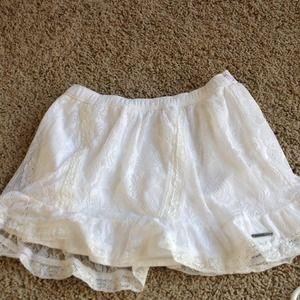 White Abercrombie Skirt