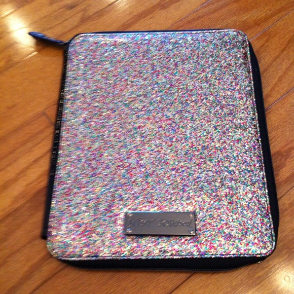 Betsey Johnson Accessories Glitter Tablet Case Poshmark