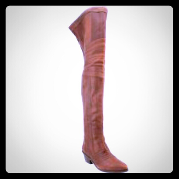 a4ff843af27 Report Signature Columbus Boots Thigh High Leather