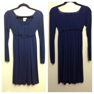 Sophie Max Dresses & Skirts - Navy long sleeve dress