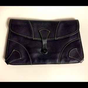 MARC JACOBS Vintage Leather Envelope Bag Clutch