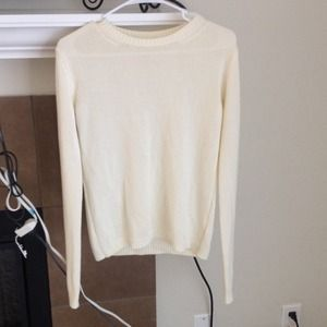 Cream Brandy Melville Sweater