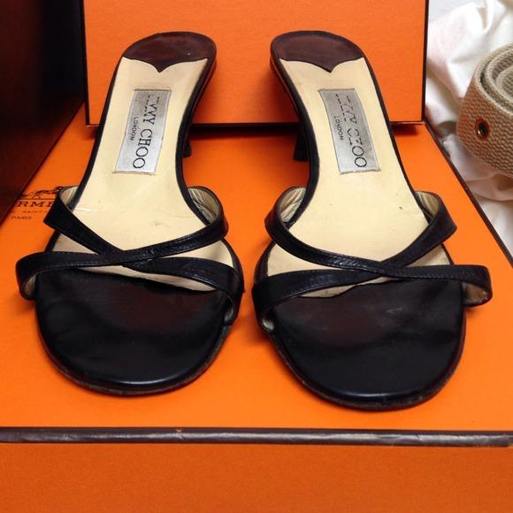Size Sandals Jimmy Heel 36 5 Choo Kitten Klc351JuTF