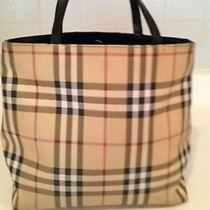 Trade for @donasfinds Burberry tote